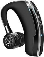 Bluetooth 日本語音声ヘッドセット V4.1 片耳 高音質 超大容量バッテリー 長持ちイヤホン CSRチップ搭載 マイク内蔵 ハンズフリー通話 日本語取扱書 携帯電話用 iOS android 対応