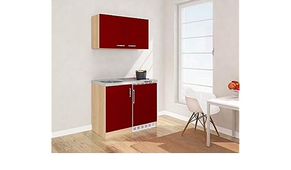 respekta - Mini Cocina Single Cocina 100 cm, Incluye Armario ...