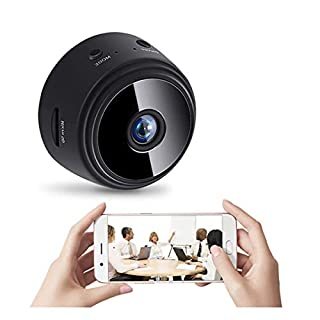 Hidden Camera Mini Wireless Spy Camera with Cell Phone App Hd 1080X720p | Tiny WiFi Nanny Surveillance Security Cam (Without SD Card)