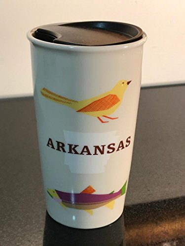 Starbucks ARKANSAS Local Collection Series Double Walled Ceramic Travel Tumbler