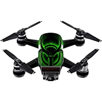Skin For DJI Spark Mini – Bio Glare | MightySkins Protective, Durable, and Unique Vinyl Decal wrap cover | Easy To Apply, Remove, and Change Styles | Made in the USA
