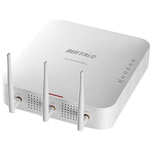 バッファロー エアステーション プロ インテリジェントモデル 法人様向け無線LANアクセスポイント11ac/n/a&11n/g/b 1300+450Mbps 同時接続 WAPM-1750D AV デジモノ パソコン 周辺機器 ネットワーク機器 14067381 [並行輸入品] B07L7PXBHR
