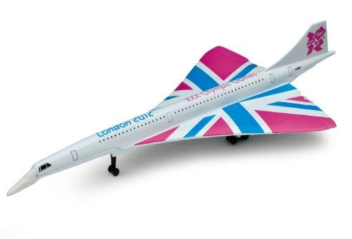 Corgi London 2012 Olympics Great British Classics Concorde Diecast Model