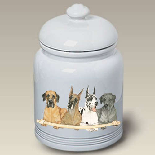 Great Dane - Best of Breed Treat Jars