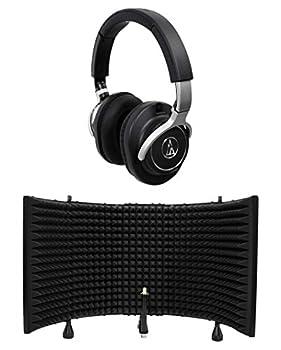 Audio Technica Ath-m70x Professional Studio Monitor Headphones Athm70x+shield 0