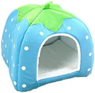 Da.Wa Funcional Perrera Gato de la Casa para Mascotas Marca Camas para Gatos Cachorro de Perro Bolsas de de Animales para Dormir-M