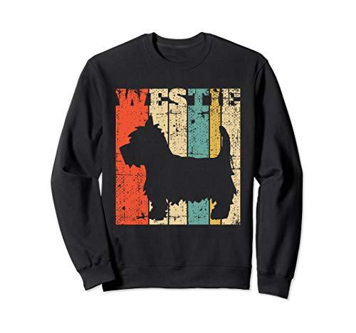(West Highland Terrier Westie T-Shirt Retro Vintage)