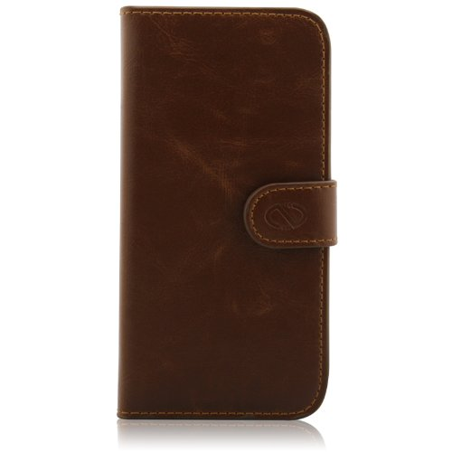 Naztech Klass Case for Apple iPhone 5 - Retail Packaging - Brown