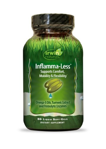 Irwin Naturals Inflamma Less 80 Count