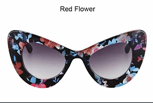 Oversized Frame Women's Round Butterfly Shape - Cheap Designer Sunglasses