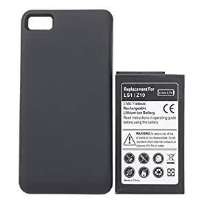 4000mAh Extended Battery With Back Cover For Blackberry Z10
