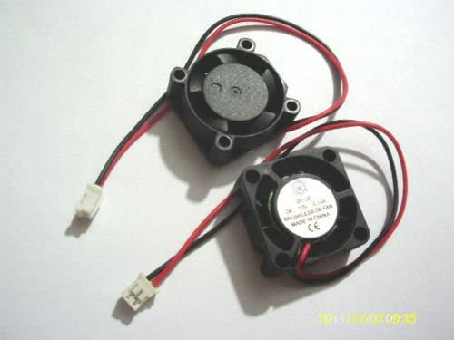 1pcs 12V 25mmx25mmx10mm Brushless DC Cooling Fan 2510s 2 Wires