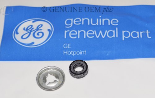Hotpoint Drain - PART # WR2X7054 AND WD8X181 GENUINE OEM ORIGINAL GE HOTPOINT DISHWASHER DRAIN PUMP VALVE SHAFT PUSH-ON NUT PART # WR2X7054 AND SHAFT SEAL PART # WD8X181