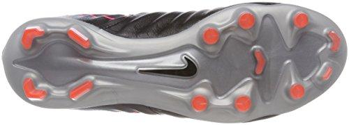Nike Tiempo Legacy III FG, Zapatillas de Fútbol Para Hombre, Negro (Black/Armory Navy-Light Armory Blue-Armory), 38.5 EU
