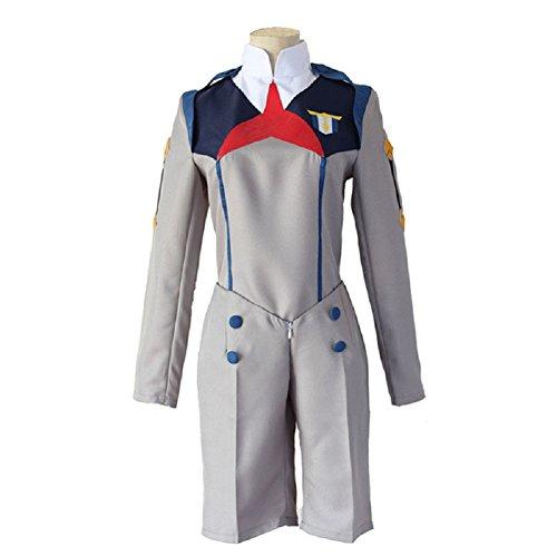 Barfest Men's Darling in The FRANXX Cosplay Costume HIRO Uniform ()