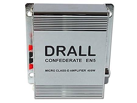 400W Mini Digital Etapa De Salida Del Amplificador Clase D (ideal para Apartamentos, Moto scooter, Motocicleta, Coche, reproductor de medios) Modelo: EN5: ...