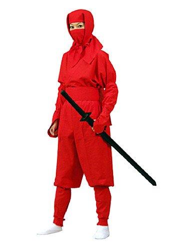 CH & CH Adult Red Ninja Disfraz, XL: Amazon.es: Hogar