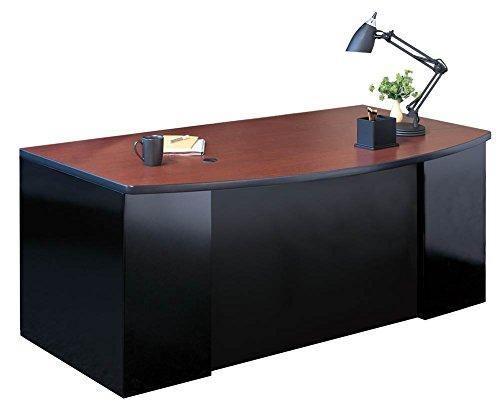 66 Bow Front Desk - 4
