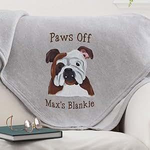 Personalized Sweatshirt Blankets - Dog Breeds