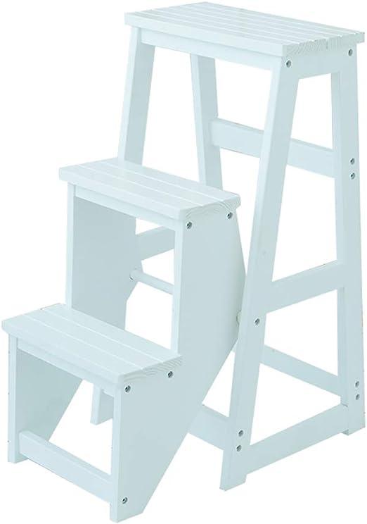 Taburete LAXF escalones de cama escaleras plegables 3 escalones de ...