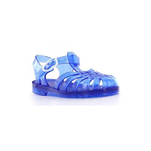 En Urinary Cobalt For Q5ttph6w Plastique Mixte Noir Sandales Bleu OOxwqR1C