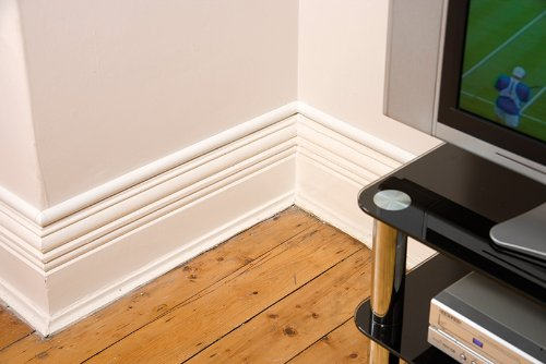 D-Line 1.5mtr (2x75cm) 30x15 Cable Wire Cover for Hiding TV cables dline  White: Amazon.co.uk: Kitchen & Home