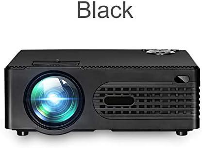 ZKKAW Mini proyector Micro Portable de HD, proyector Llevado del ...