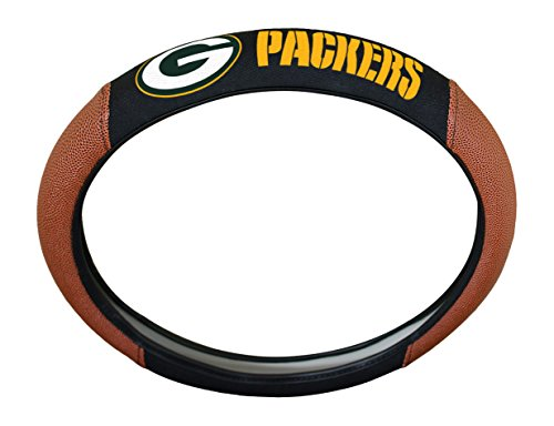 (NFL Green Bay Packers Rubber Steering Wheel Cover, 15