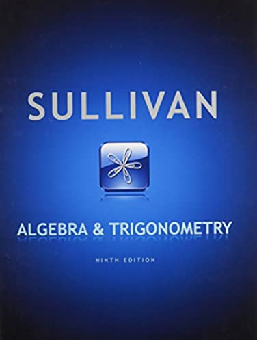 algebra and trigonometry mymathlab and student solutions manual rh amazon com