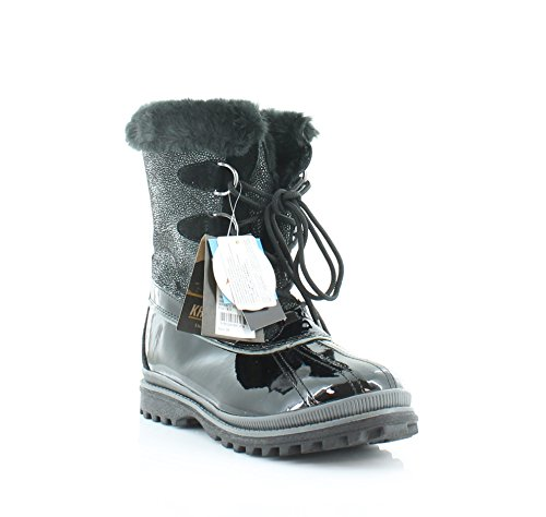 - Khombu Women's Free K Cold Weather Boot, Black, 7 M US