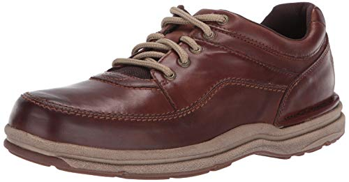 Rockport Men's Wt Classic Oxford, Brown Leather, 11 M US ()