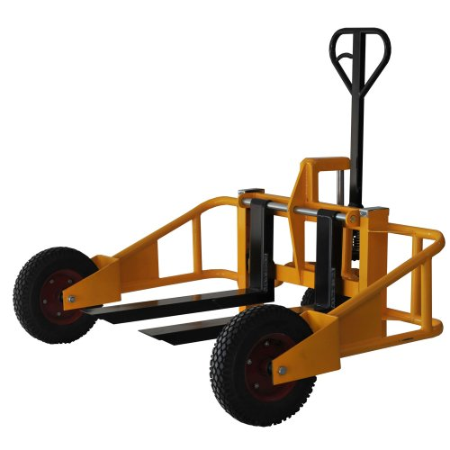 Black-Bull-PTRUCK-Yellow-All-Terrain-Pallet-Truck