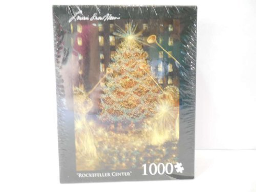 Laurie Snow Hein Christmas at Rockefellar Center 1000 Piece Glitter (Laurie Snow)