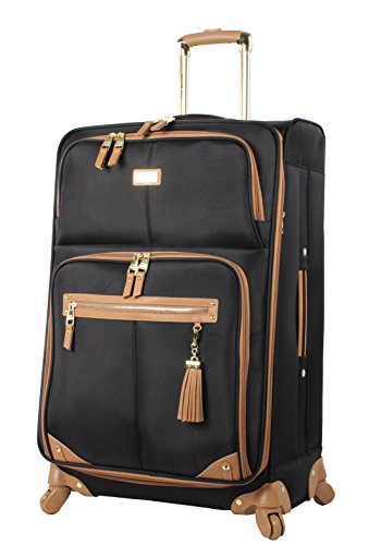 steve-madden-luggage-large-28-expandable-softside-suitcase-with-spinner-wheels-28in-harlo-black