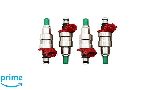 4pcs Fuel Injector 4 Holes For MAZDA MPV 1991-1994 B2600 842-12112