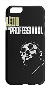 leon the professional minimalist poster Iphone 6 plastic case