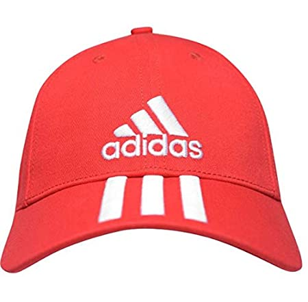 adidas Perfomance 3S Gorra Hombre Rojo: Amazon.es: Deportes y aire ...