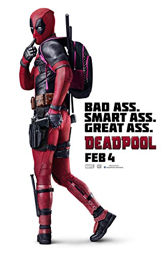 Deadpool International Movie Poster 24 X 36 Thick Glossy Feb