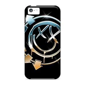 New BKT2484Yley Blink 182 Skin Case Cover Shatterproof Case For Iphone 5c