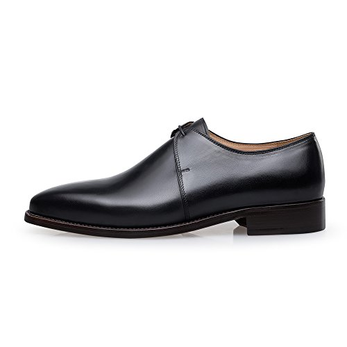Genuine Dress Leather Y8999 Mens Leather Dress Business Genuine ZRO Mens Business Black ZRO Y8999 Shoes xqX1Ca7