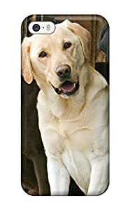 New ICONQnL18871gQxlO Labrador Retriever Dog Skin Case Cover Shatterproof Case For Iphone 5/5s