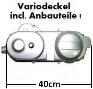 REX 450 50 VARIOMATIKSCHRAUBEN VARIO DECKEL SCHWARZCHINA ROLLER 4 TAKT z.B