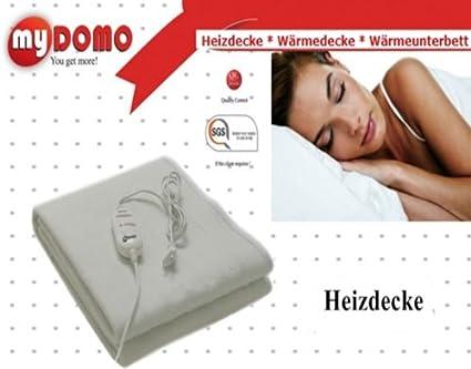 Manta eléctrica térmica eléctrica, Techo, calor, lavable a máquina, 150 x 80