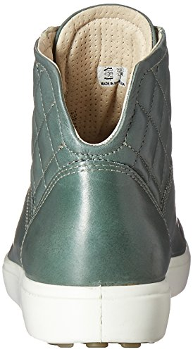 Frosty Green para Soft Zapatillas 7 57042frosty Ecco Ladies Green Altas Mujer Verde pUvqWwRnW