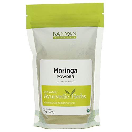 Banyan Botanicals Moringa Leaf Powder – USDA Certified Organic – Moringa Oleifera – Sun Dried – Raw Herbal Superfood – Natural Energy Boost for Optimal Wellness * Review