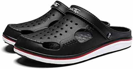 e63032aa56dd Men Casual Aqua Clogs Hot Male Band Sandals Summer Slides Beach Swimming  Shoes