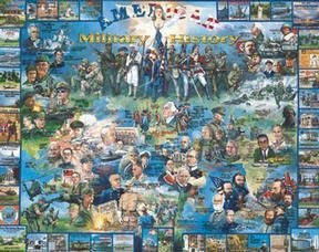 American Military History Jigsaw Puzzle 1000pc by Weiß Mountain Puzzles