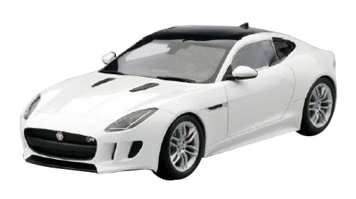 Jaguar F Type R Coupe White 0 Model Car Ready Made Top