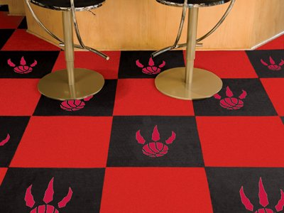 Fanmats Toronto Raptors NBA Carpet Tiles (18x18 tiles) by Fanmats
