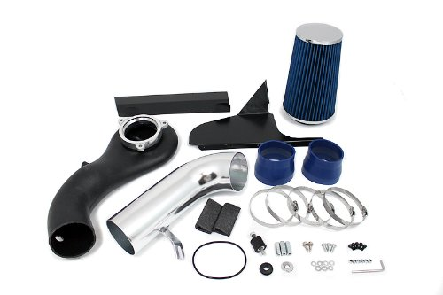 R&L Racing Air Intake System + Filter Compatible with Chevrolet/S10/Blazer/GMC/Sonoma/4.3L/V6 | 3.5